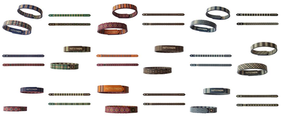 PATTERNON leather bracelets