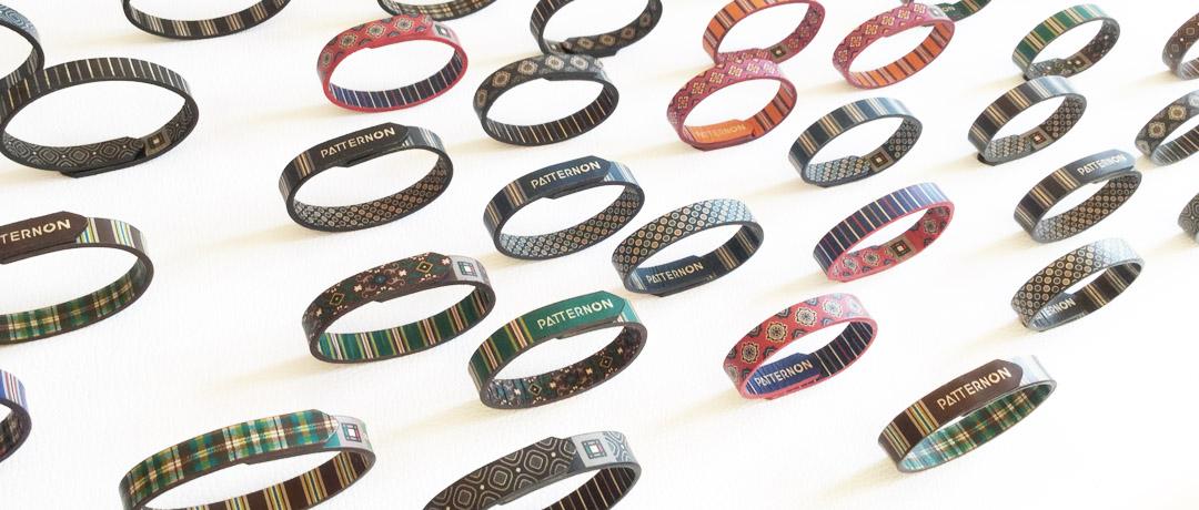 PATTERNON pattern bracelets